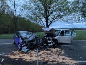 U Češnovic došlo k tragické dopravní nehodě. Nepřežilo ji jedno dítě