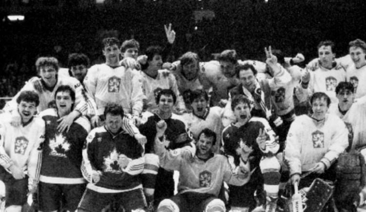 VIDEO: Před 35 lety zvítězilo Československo na MS v hokeji v Praze
