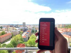 Budějcký dopravní podnik má novou aplikaci