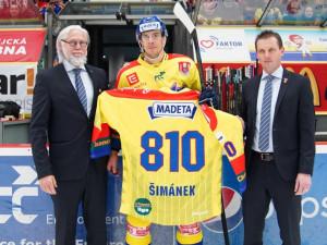 Rekordman Šimánek ukončil kariéru, v Motoru ale zůstává
