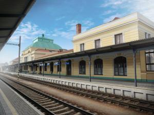 Rekonstrukce vlakového nádraží má být hotová na konci roku 2022. Vyjde na 689 milionů