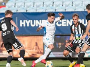 Fotbalový půst je u konce. Dynamo v prvním utkání po koronavirové pauze podlehlo Liberci