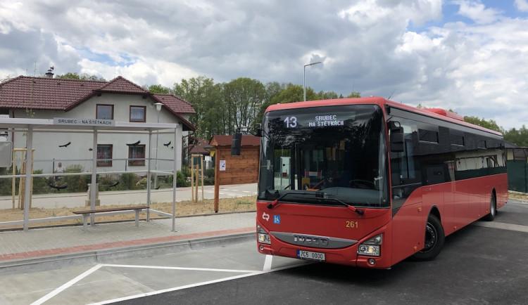 Trasa linky 13 bude v obci Srubec prodloužena, obsluhovat bude lokalitu Na Štětkách