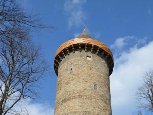 Památkáři otevřeli opravenou věž na Rožmberku. Lidé na ni mohou po více než sto letech