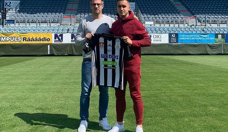 Dynamo má novou posilu, přichází Lukáš Jánošík