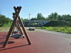 Město hodlá rozšířit park 4 Dvory směrem ke stadionu. Plán v sobotu představilo veřejnosti