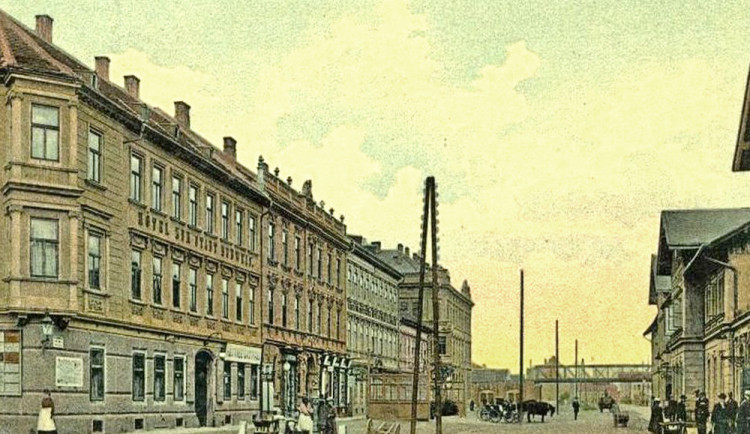 DRBNA HISTORIČKA: Prostor před starým nádražím byl komunikačním uzlem