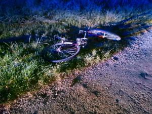 Zraněného cyklistu musel do nemocnice převézt vrtulník