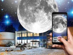 Budějovice zažijí blízké setkání s Měsícem