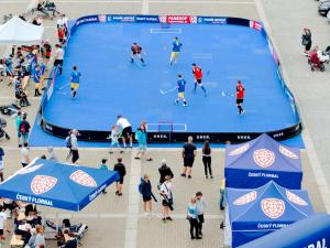 Náměstí v sobotu oživí Street Floorball League, celkem nastoupí 24 týmů