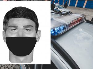 Policisté zveřejnili identikit muže, který v Prachaticích přepadl ženu