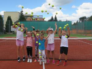 Na začátku září proběhne nábor malých tenistů