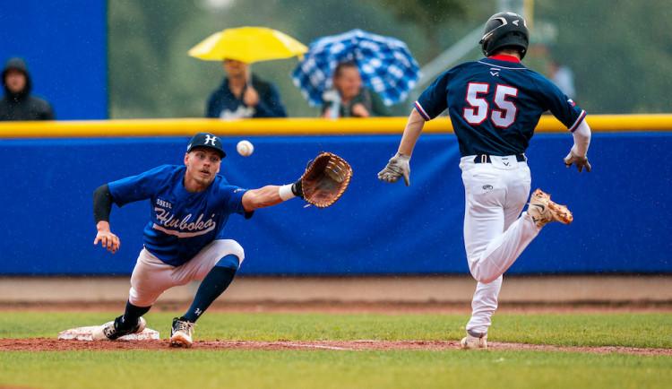 Baseballovou exhibici vyhrál tým extraligových hvězd