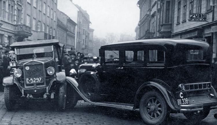 DRBNA HISTORIČKA: Dopravní nehody byly i když se jezdilo pomalu, jen následky byly jiné