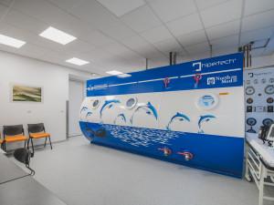 Českobudějovická nemocnice má větší hyperbarickou komoru