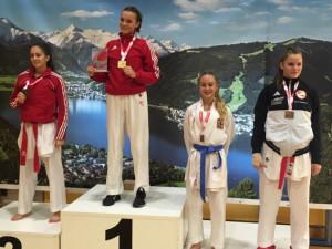 Závodníci TJ Karate České Budějovice zaváleli v Rakousku! V disciplíně Kumite obsadili druhé místo