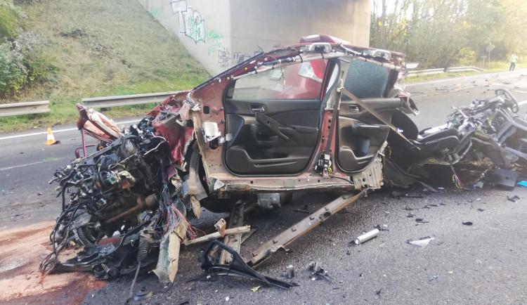Při tragické nehodě nákladního a osobního auta na Písecku zemřel řidič jednoho z vozů