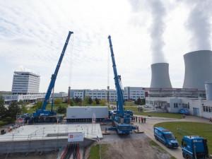 Před dvaceti lety poprvé spustili v Temelíně jaderný reaktor