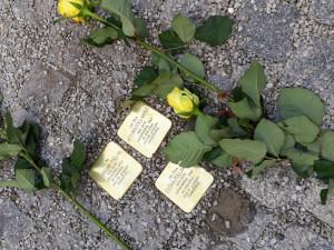 V Boršově položily kameny zmizelých