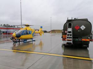 Letecká záchranná služba se od nového roku vrací na letiště v Plané