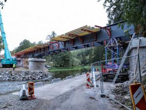 Správa železnic hledá zhotovitele nového mostu na Písecku. Stát má 450 milionů