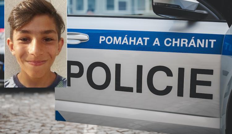 Třináctiletý Richard se nevrátil z vycházky. Pátrá po něm policie