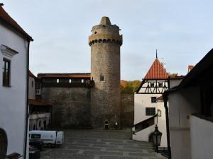 Rekonstrukce strakonického hradu finišuje. Hotovo má být v prosinci