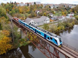 České dráhy testovaly nové vlaky na jihočeské trati Bechyňka