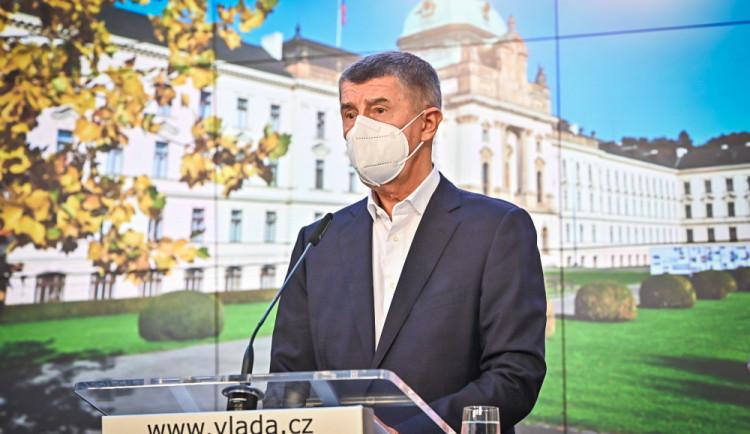 Vláda prodloužila nouzový stav do 20. listopadu