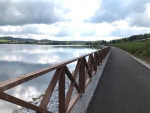 Díky nové cyklostezce se Černá lépe propojí s Frymburkem. Práce vyšly na 12 milionů