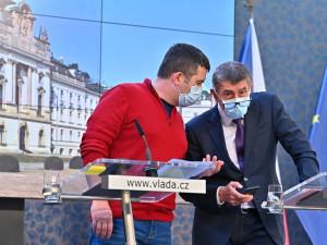 Vláda bude žádat o prodloužení nouzového stavu, řekl Hamáček