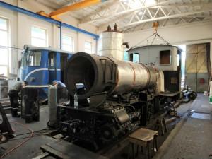 Na jihu Čech opravili jednu z nejstarších parních lokomotiv v Česku. Rozebraná byla na tisíce kousků
