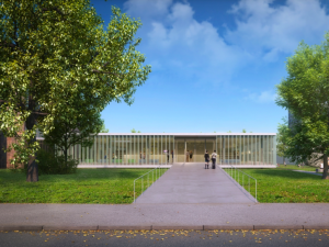 Nová budova knihovny je hotová. Čtenářům by se měla otevřít v lednu