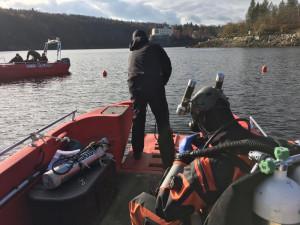 Policie našla v přehradě Orlík tělo potápěče. Pohřešovaný byl od neděle