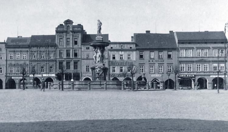 DRBNA HISTORIČKA: Budějcké náměstí v roce 1936