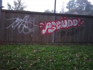Zeď útulku posprejoval neznámý vandal. Dobrovolník malbu překreslil
