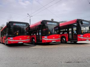 Ulice Budějc bude křižovat devět nových autobusů. Do provozu vyjedou na jaře