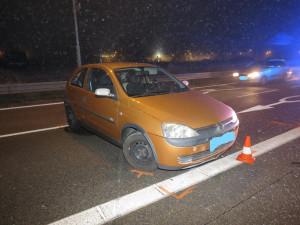 FOTO: Nepochopitelný manévr na okraji Budějc. Řidič se na frekventovaném tahu začal otáčet do protisměru