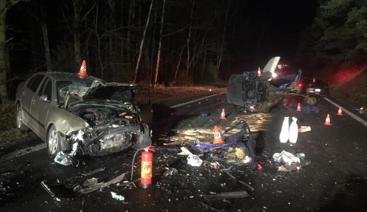 Pětatřicetiletá žena způsobila tři nehody. Poslední střet nepřežila