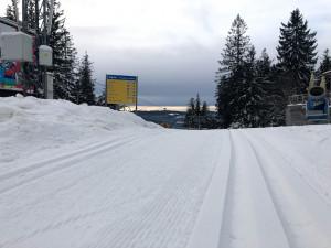 Skiareál Lipno je otevřen běžkařům