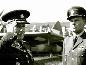 Osmadvacet let od úmrtí válečného pilota RAF Jiřího Maňáka. Za svůj život vykonal 273 bojových letů