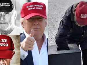 GLOSA: Topolánek předběhl Babiše, kterého ale doběhl Trump