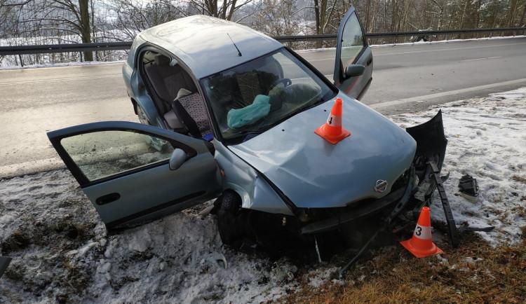 Při nehodě na Prachaticku zemřela starší žena. Řidič byl převezen do nemocnice