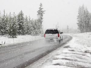 Meteorologové varovali před sněžením a náledím. Výstraha platí pro celý kraj