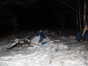 Kvůli mrazům zemřeli na jihu Čech tři lidé. O místa v azylových domech přitom vyšší zájem není