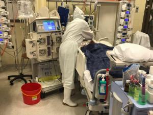 Horší než smrt je sledovat utrpení pacientů, říká strakonická vojákyně, která pomáhala v nemocnici na covidovém oddělení