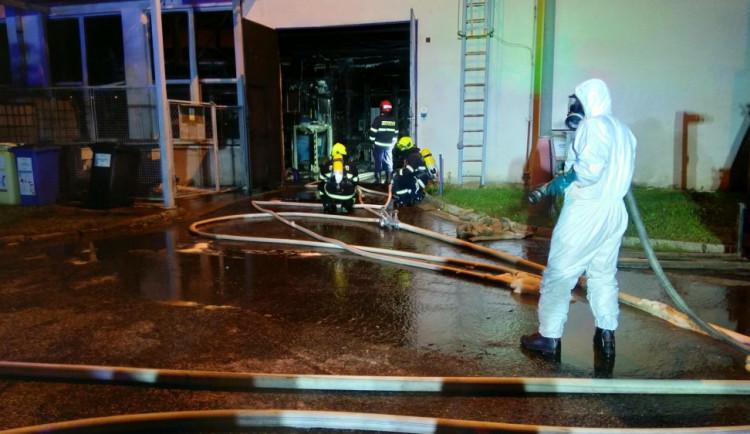 Požár galvanovny Brisku způsobila závada na elektroinstalaci