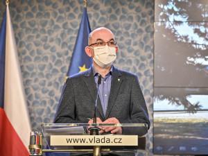 Vláda dnes prodloužila nouzový stav do 14. února