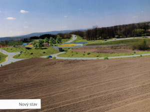 Boršov nad Vltavou a nové dopravní stavby