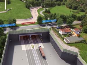Obchvat Budějc bude podle ministra dopravy hotový v roce 2024. Problémem je tunel Pohůrka
